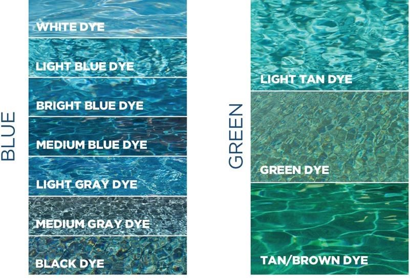 Choosing A Water Color For Your Pool Ferrara Buist