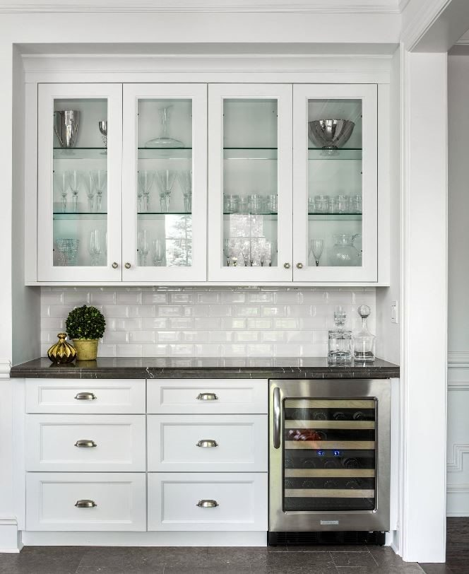 Butler pantry design ferrara buist companies for Butler pantry pictures